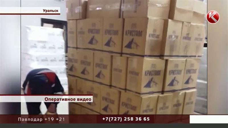 Небывалую партию алкоголя уничтожат в Уральске