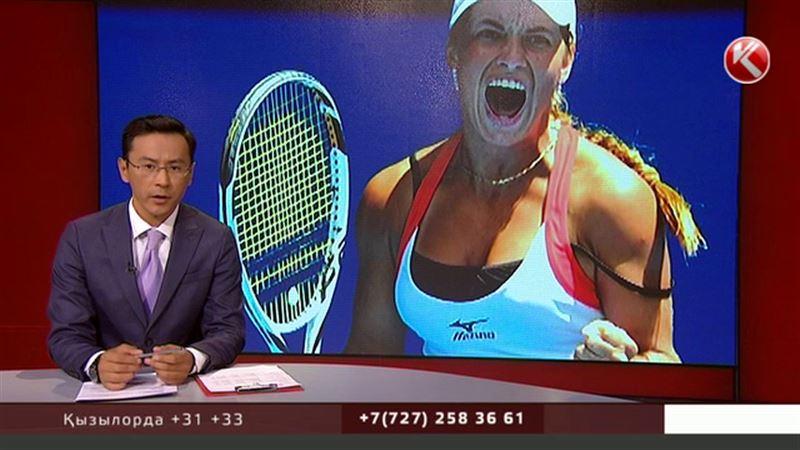 Жарыста жаттықтырушысын жер қылған теннисші кешірім сұрады
