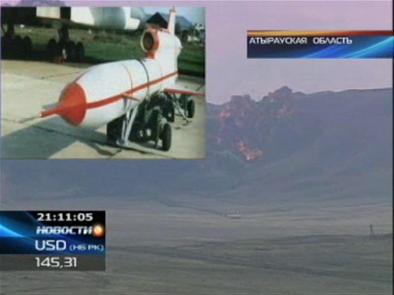 В Атыраускую область снова залетела российская ракета