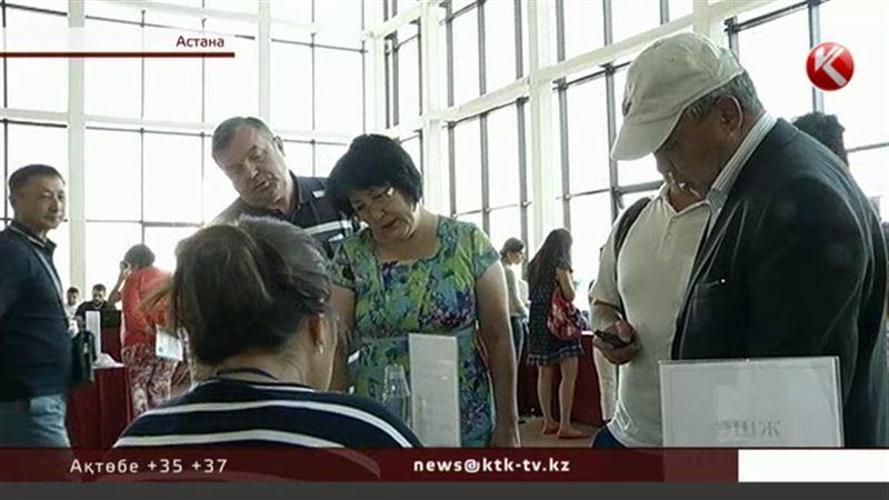 Астанада бос жұмыс орындарының жәрмеңкесіне келген жұрттың «салы суға кетіп» қайтты