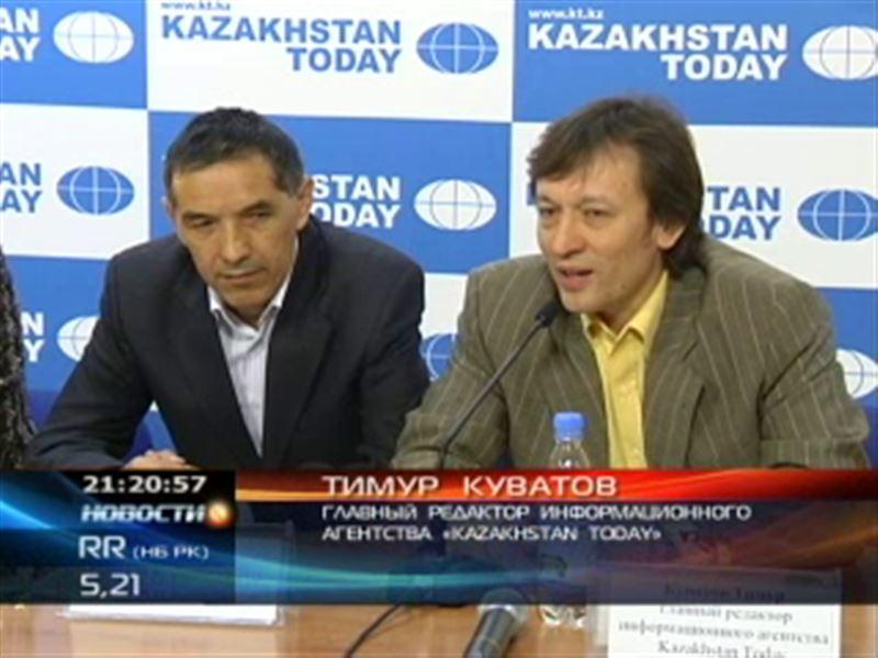 Беспрецедентный медиаскандал в Алматы