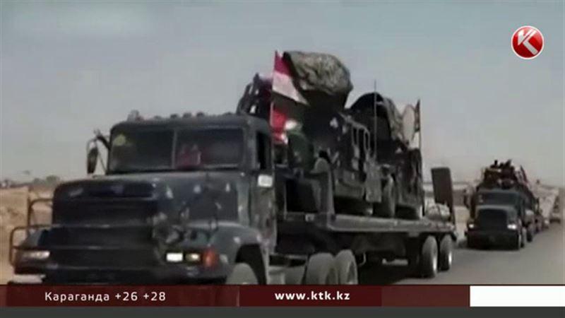Казахстанских детей вывозят из Ирака