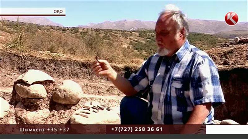 Оңтүстік Қазақстанда археологтар 2 мың жылдық тарихы бар жәдігерлерді анықтады