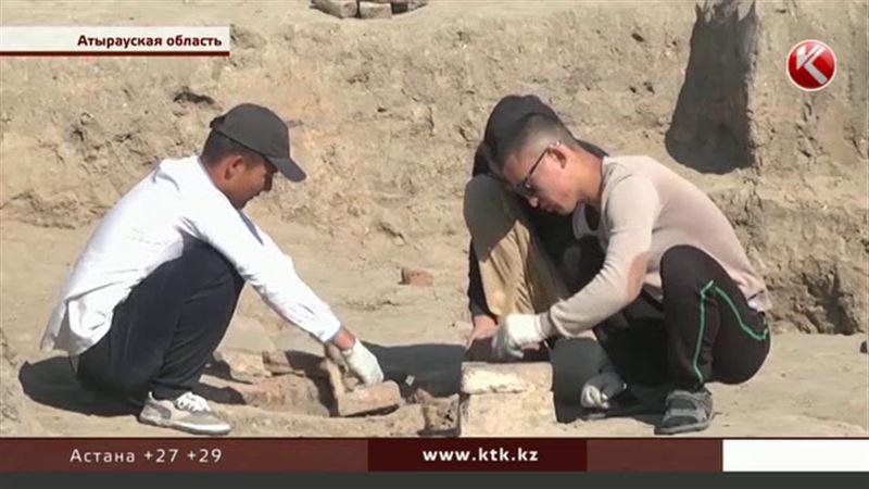 На Сарайшыке возобновились раскопки – для музея под открытым небом