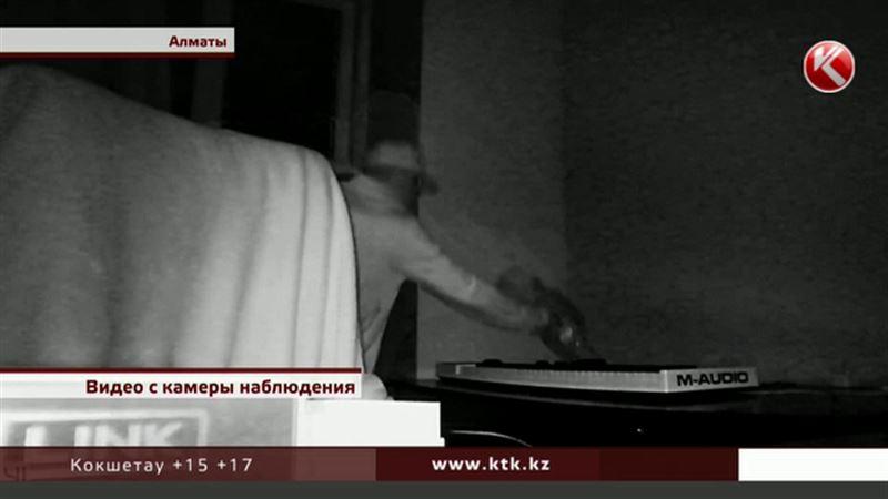 Радиостудию в Алматы обворовывали под прицелом камеры