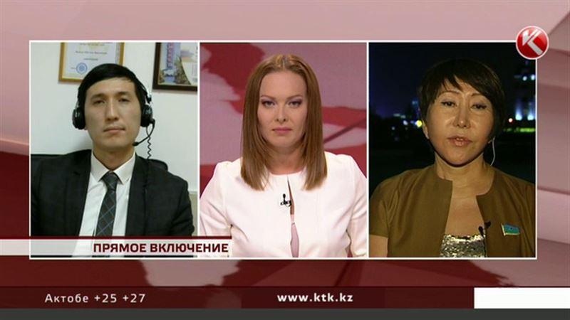 Депутат и директор «Туристiк камкор» затеяли спор в прямом эфире КТК