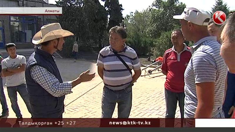 Алматыда ашынған жұмысшылар ақысын жеген басшыларын іздеп таба алмай жүр