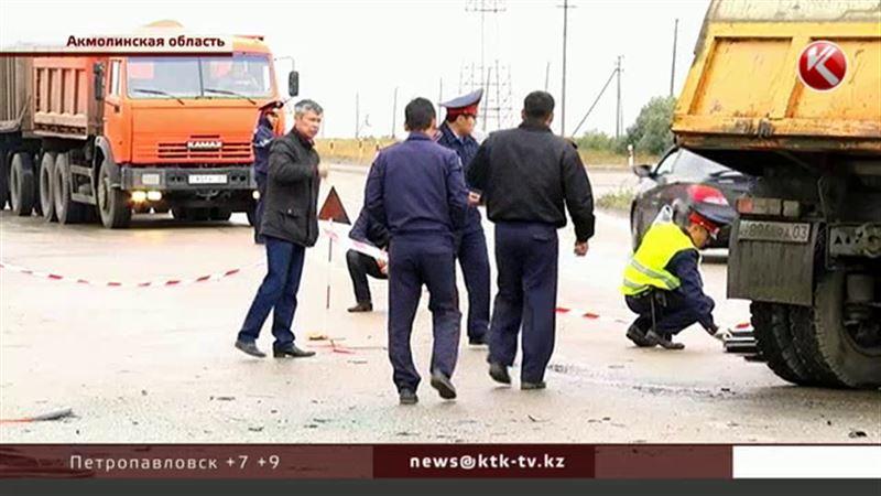Микроавтобус с гастарбайтерами столкнулся с грузовиком