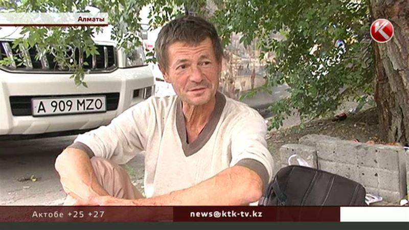 ЭКСКЛЮЗИВ: Знаменитый спортсмен-бомж снова бродяжничает