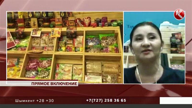 Казахстанские продукты удивили москвичей