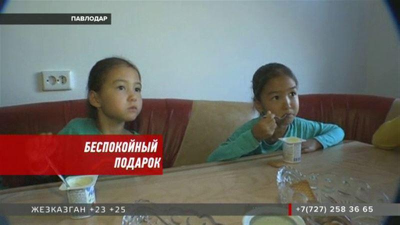 Многодетная семья из Павлодара боится остаться без подарка Сагинтаева