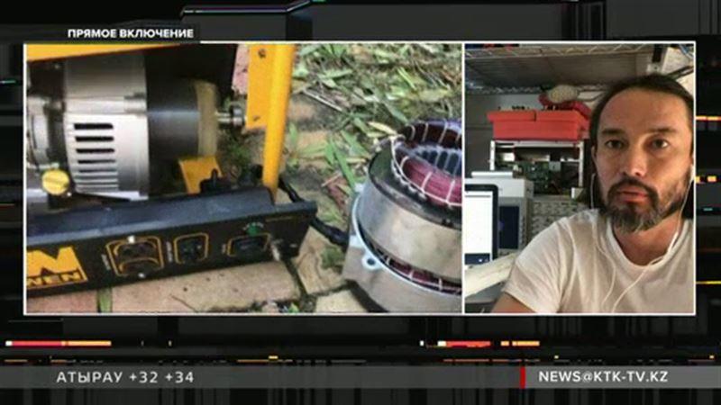 Казахстанец рассказал, как солнечные батареи помогли ему пережить «Ирму»