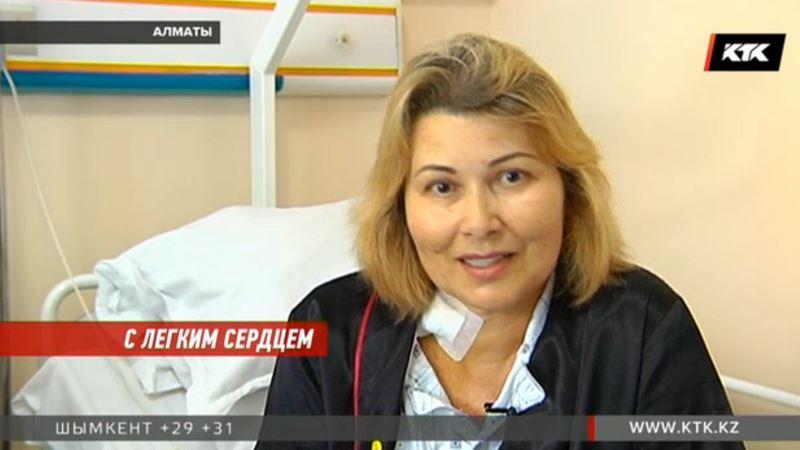 Американка доверилась казахстанским врачам и счастлива