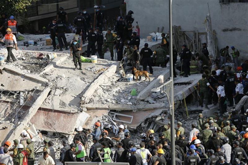 Число погибших после землетрясения в Мексике выросло до 119 человек