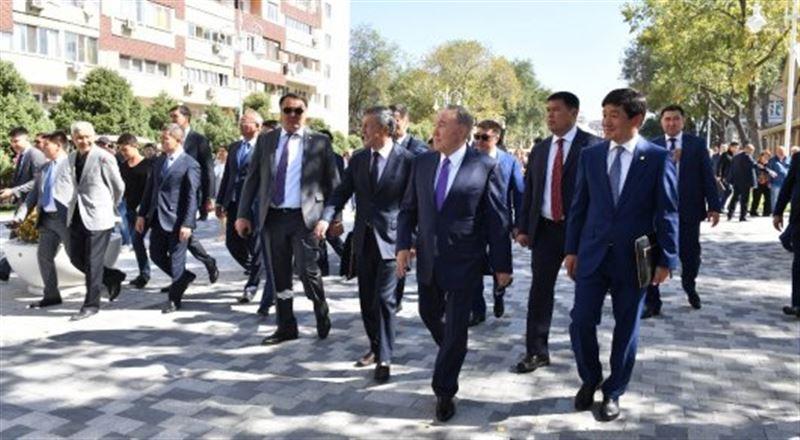 Президент посетил обновлённый центр Алматы