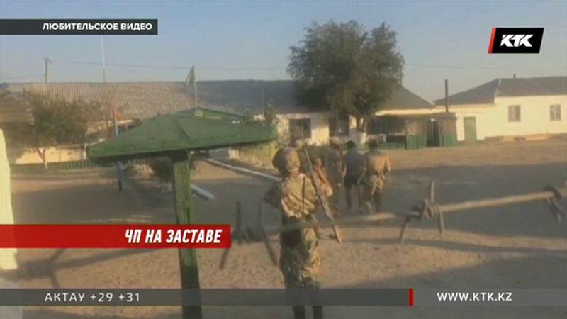 Столкновение между военными и сельчанами - военная прокуратура разбирается