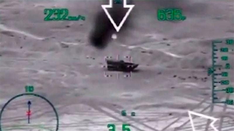 Удар беспилотника прервал публичную казнь ИГИЛ