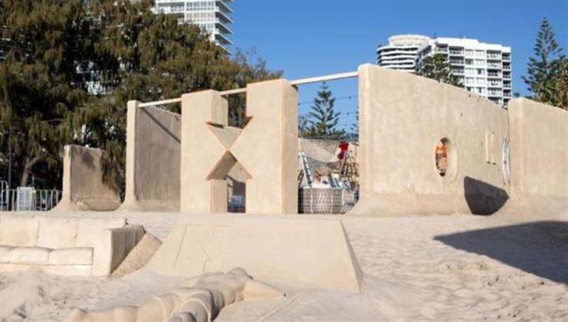 Песочная гостиница на австралийском курорте