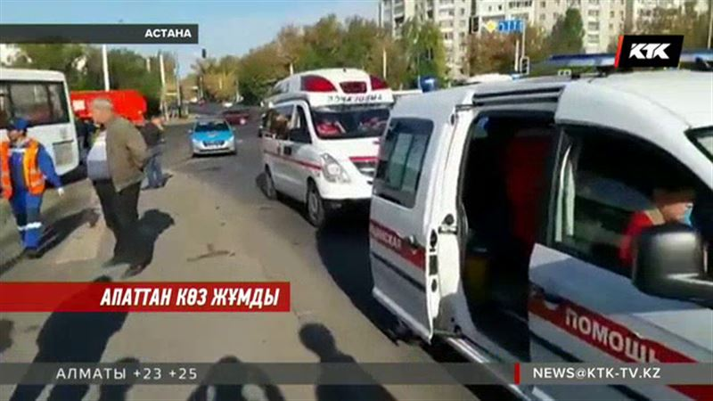 Астанада жантүршігерлік жол апаты 5-ші сынып оқушысының өмірін жалмады