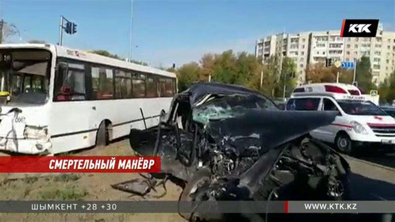 ДТП с автобусом в Астане: не выжил ребенок