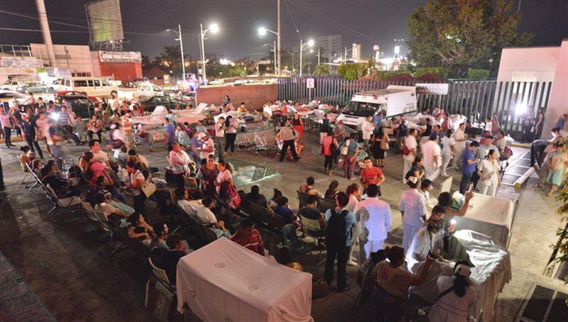 В Мексике после землетрясения пропали без вести более 200 человек