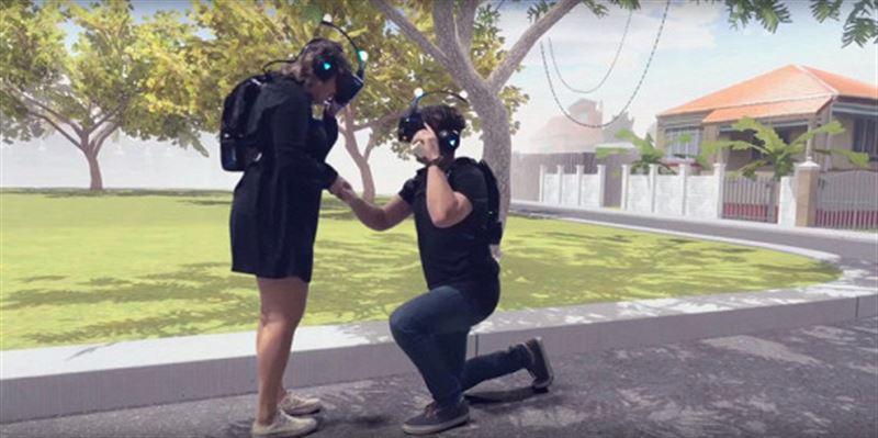 Сделал предложение в виртуальной реальности