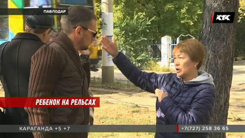 В Павлодаре под колесами трамвая опять оказался ребенок