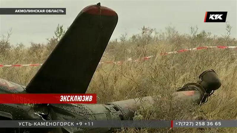 Ударился о землю и загорелся Ми-2 – эксклюзивные кадры