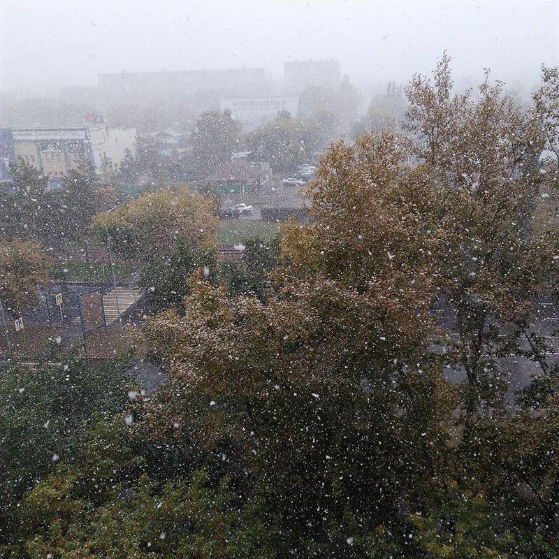 В Казахстане в сентябре выпал первый снег