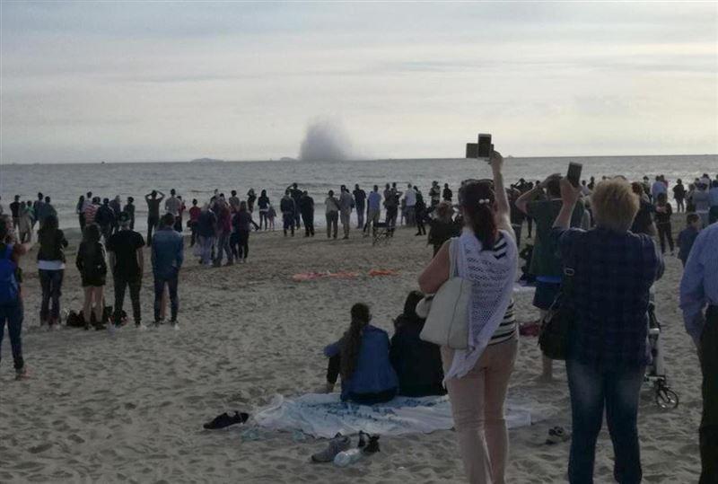 Истребитель разбился на авиашоу в Италии — пилот погиб