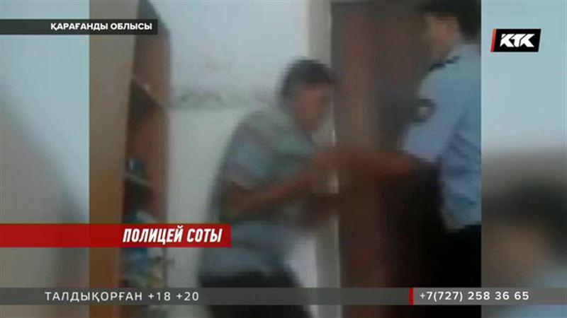 Қарағанды облысында педофилді жәбірлеген полицейдің өзі түрмеден бір-ақ шықты