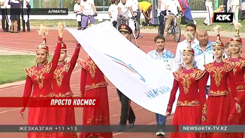 Казахстанские школьники отправились в космос на мастер-классы
