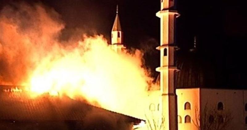 ВИДЕО: В Швеции сгорела мечеть