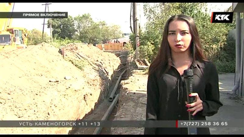 Из-за строительства развязки алматинцы боятся попасть под колеса автомобилей