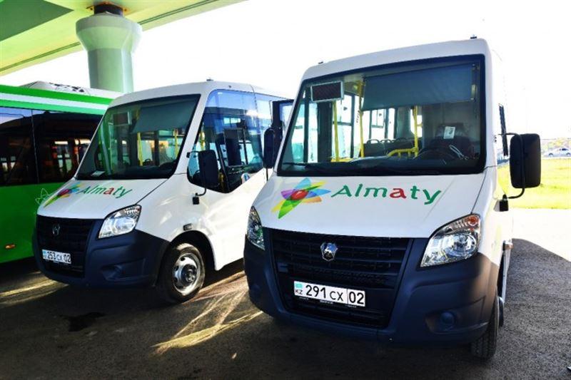 500 новых автобусов начнут курсировать по Алматы