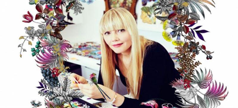 Лондонская художница нарисовала Алматы