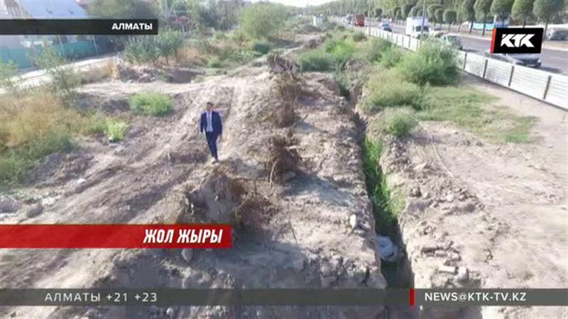 Алматыда қазылған орды көмбей кеткен жұмысшылардың салғырттығы жұрттың ашуын туғызды