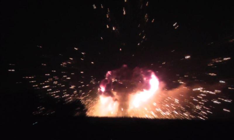 Мощный взрывы прогремел на складе боеприпасов под Винницей