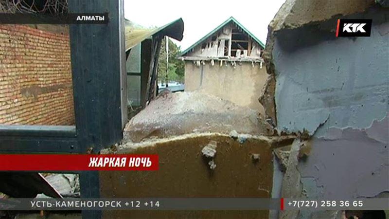 Из-за непотушенной сигареты мог загореться гостиничный комплекс в Алматы