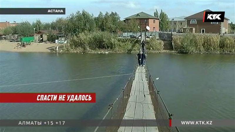 Родители бросились за упавшим в реку сыном, но не спасли его
