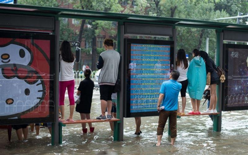 В Китае из-за проливных дожде погибли 5 человек