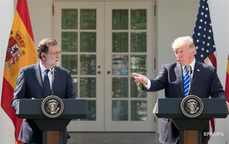 Трамп назвал премьера Испании президентом и неправильно написал его имя