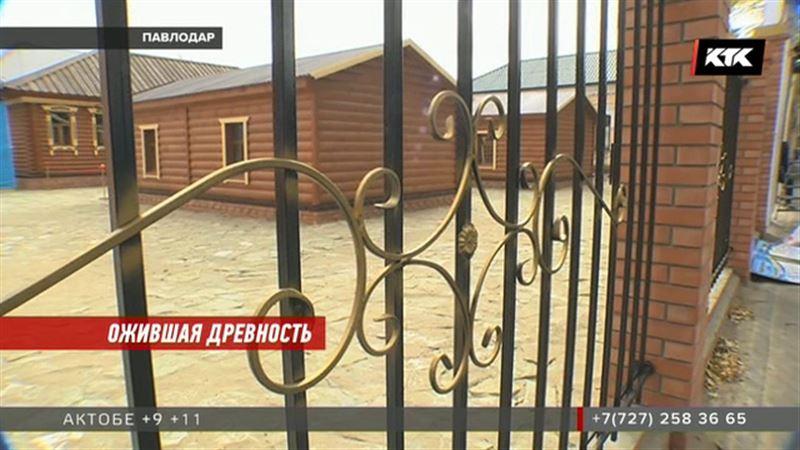 В центре Павлодара расположилась ставка Султанмухамеда Бахадура