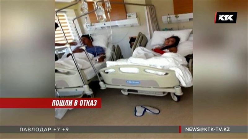 Трое пострадавших на турецкой трассе отказались лететь на самолете санавиации