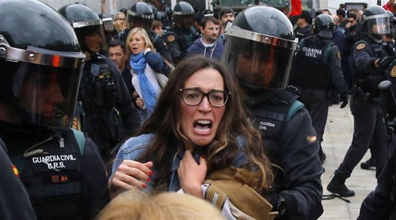 Референдум о независимости Каталонии обернулся беспорядками с сотнями пострадавших
