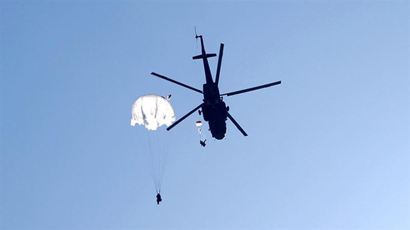 ВИДЕО: Десантник погиб из-за нераскрывшегося парашюта