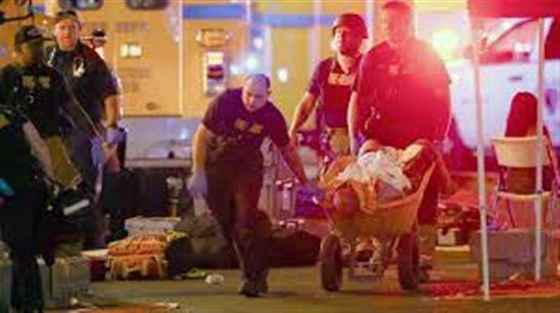 В Сети появились первые кадры с места стрельбы на концерте в Лас-Вегасе