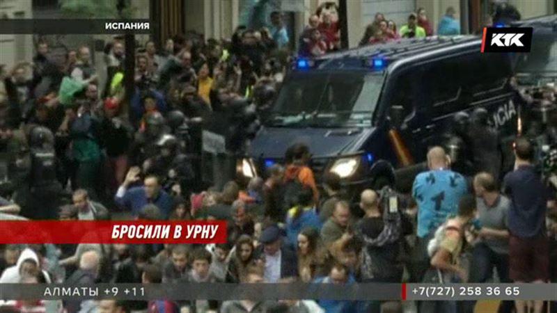Каталония: столкновения с полицией, митинги и массовые задержания
