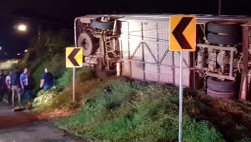 В Мексике перевернулся автобус: 15 человек погибли, 30 пострадали