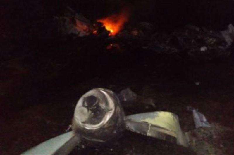 Уголовное дело возбуждено после крушения самолета Ан-28 под Алматы